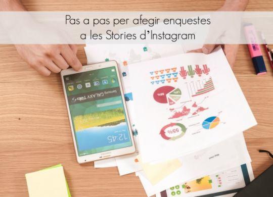 afegir enquestes a les stories instagram
