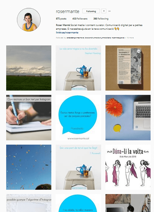 crear continguts per instagram