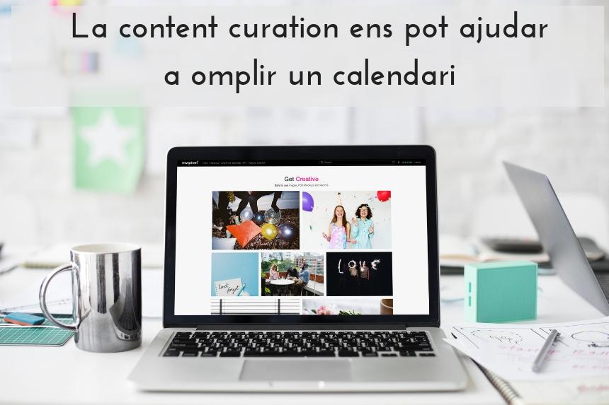 content curation-calendari
