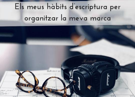 habits escriptura