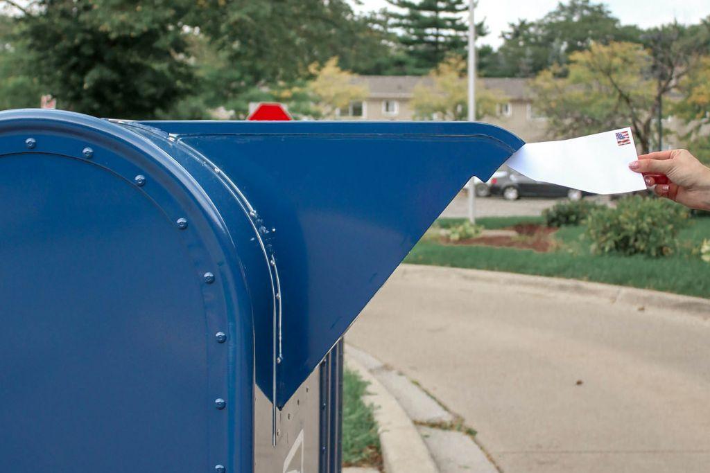 tipus de newsletters, bústia blava amb correu